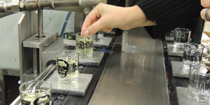 Fabrication des bougies Zadig & Voltaire