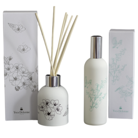 Yves Delorme room spray and reed diffuser